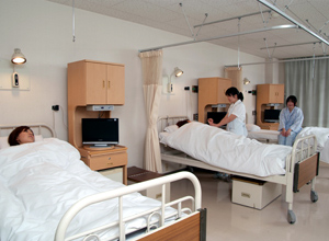 入院について|医療法人徹仁会 厚別耳鼻咽喉科病院 ホーム > 入院について 病棟では入院に対する